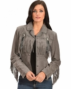 Cowgirl Jacket With Fringe - 152 - Click to enlarge