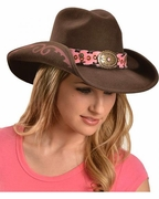 Felt Cowgirl Hats - Annie Oakley - Click to enlarge