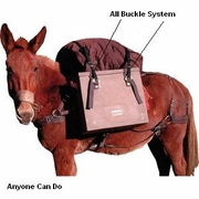 Sawbuck Pack Saddles -  Not-A-Knot System - Click to enlarge