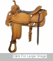 SALEM RANCH CUTTER BY BILLY COOK SADDLERY