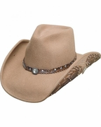 Women's Felt Cowboy Hats - Nobody But You - Click to enlarge