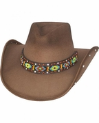 Womens Felt Cowboy Hats - Bad Axe River - Click to enlarge