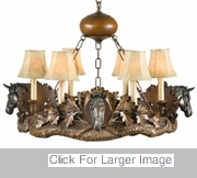 Horse Chandelier For Sale