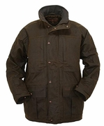 Mens Oilskin Jacket - Deer Hunter  - Click to enlarge