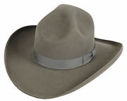 1800s Cowboy Hat - 4 Dent Campaign Hat - Click to enlarge