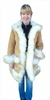 Womens Sheepskin Coats - Vicky