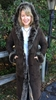Women's Full Length Shearling Coats - 0300