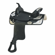 ATEC® SILVER SHOW SADDLE - Click to enlarge