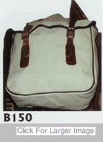 "Nylon Saddle Bags ""B150"""