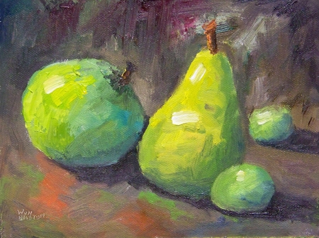 Green Fruit - 6x8