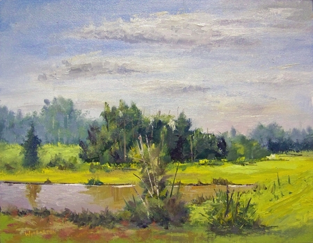 """<img src=""""/lib/yhst-138982409660304/SOLD-DOT.GIF"""" height=""""15"""" width=""""15""""> August Clouds - 11x14"""
