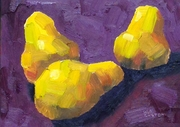 Three Pears - 5x7