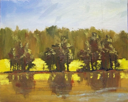 Shelley Lake - 11x14
