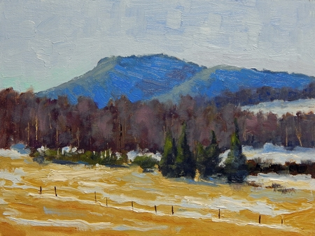 Smokey Mountains - 9x12