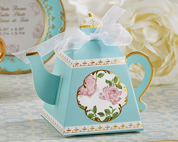 Tea Time Whimsy Teapot Favor Box (Set of 24) Out of Stock Until 5-31-17