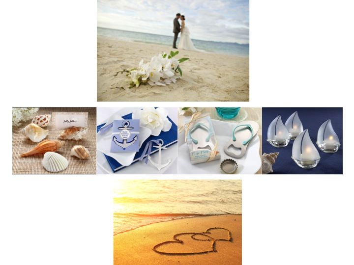 Beach Wedding Reception Favor Ideas