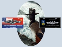 Submarine License Plates