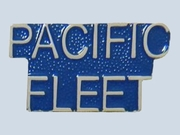 Pacific Fleet Script Pin