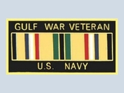 Gulf War Veteran with Ribbon