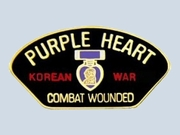 Korean War Purple Heart Pin