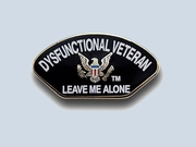 Dysfunctional Veteran Pin