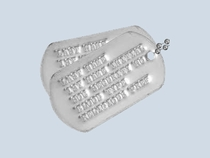 1964 to Present Dog Tag