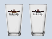 Deterrence Pint Glass