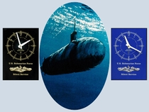 Submarine Deck Clocks