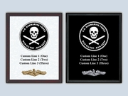 Jolly Roger Plaque