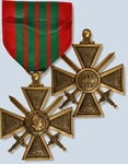 French Croix de Guerre WWII