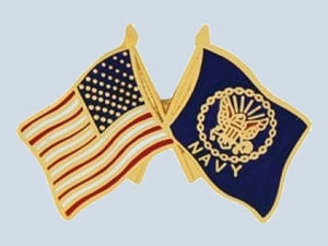 USA & Navy Flags