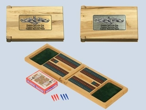 Customized Cribbage Board