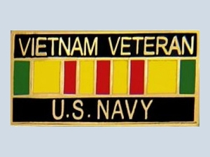 Vietnam Veteran  with Ribbon