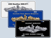 Personalized Dolphins Plates