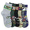 BOY'S COMPUTER DESIGN SOCKS PR019, MOPAS