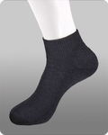 ANKLE SOCKS BLACK(POUCH)
