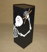 Skeleton Drummer Percussion Shaker