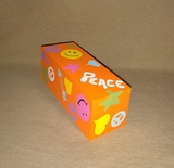 Retro Peace Percussion Shaker