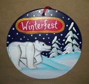 Winterfest Polar Bear
