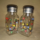 Christmas Lights Salt & Pepper Shakers
