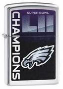 Zippo Superbowl Champions Eagles Lighter