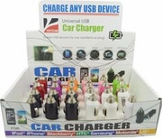 Universal USB Cellphone Car Charger 24/bx