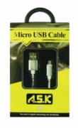 "Galaxy Micro ""Leather Like""Cable 6 Box"