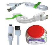 2 in 1 Phone 5-6 / Micro Cable 24 jar