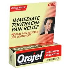 Oragel Dental Toothache Pain Reliever