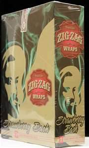 Zig Zag Wraps Strawberry Bash