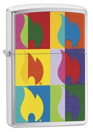 Zippo Flame In colors