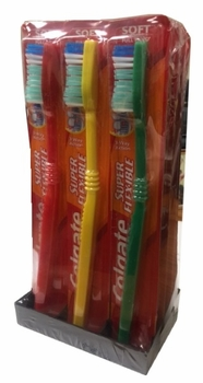 Colgate Super Flex-Toothbrush 12/bx