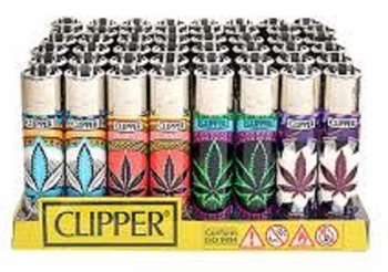 Clipper Marijuana Leaf Lighter