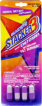 Stacker 3 Ephedra Free Fat Burner Packets